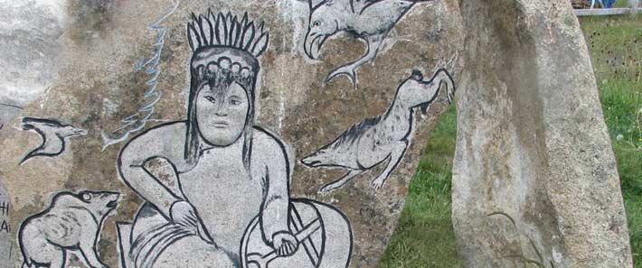 Schamanenstein Mongolei