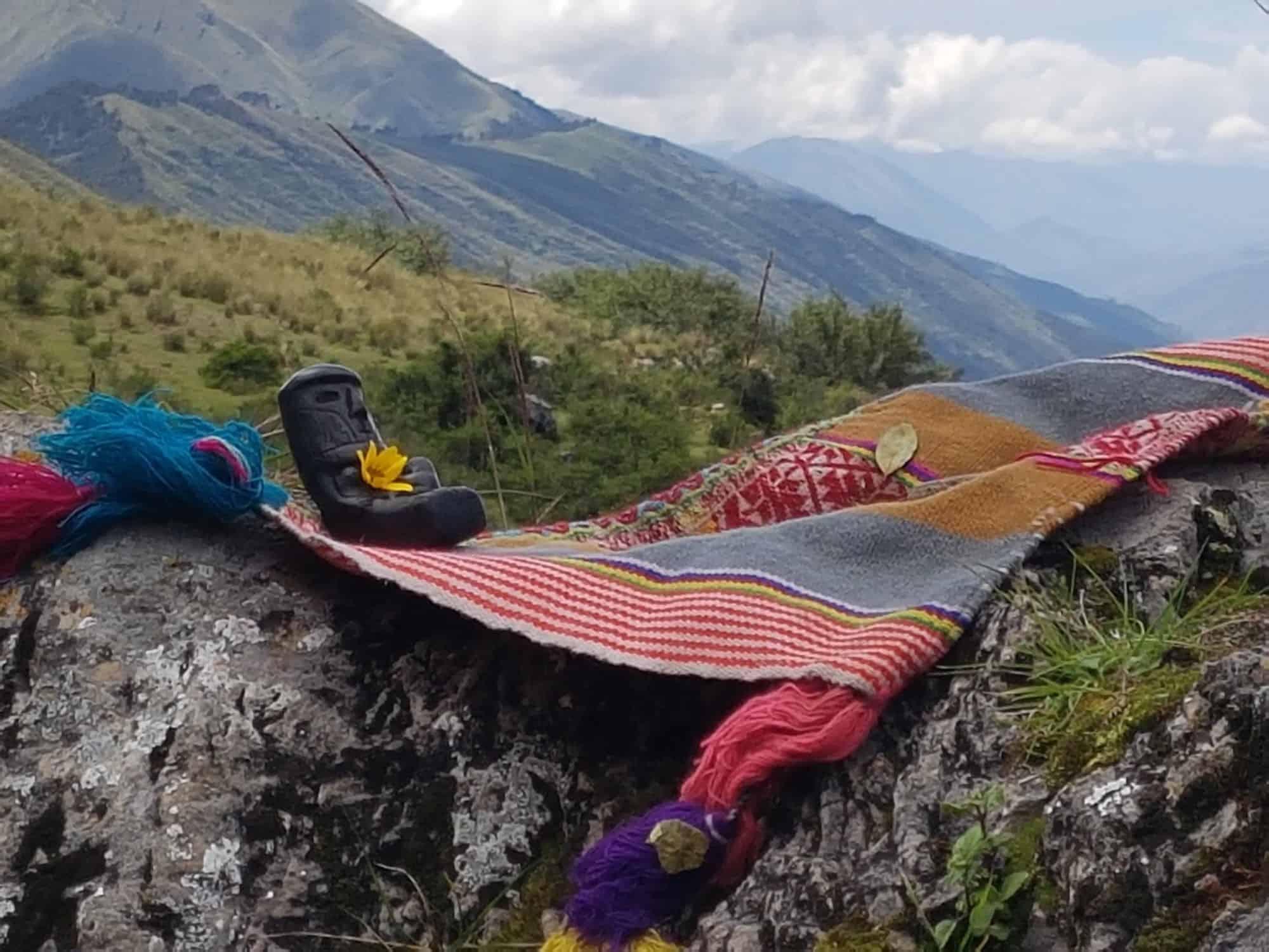 Pachamama in den Anden